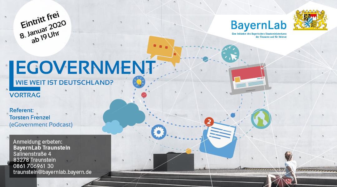 Vortrag: eGovernment - Wie weit ist Deutschland?